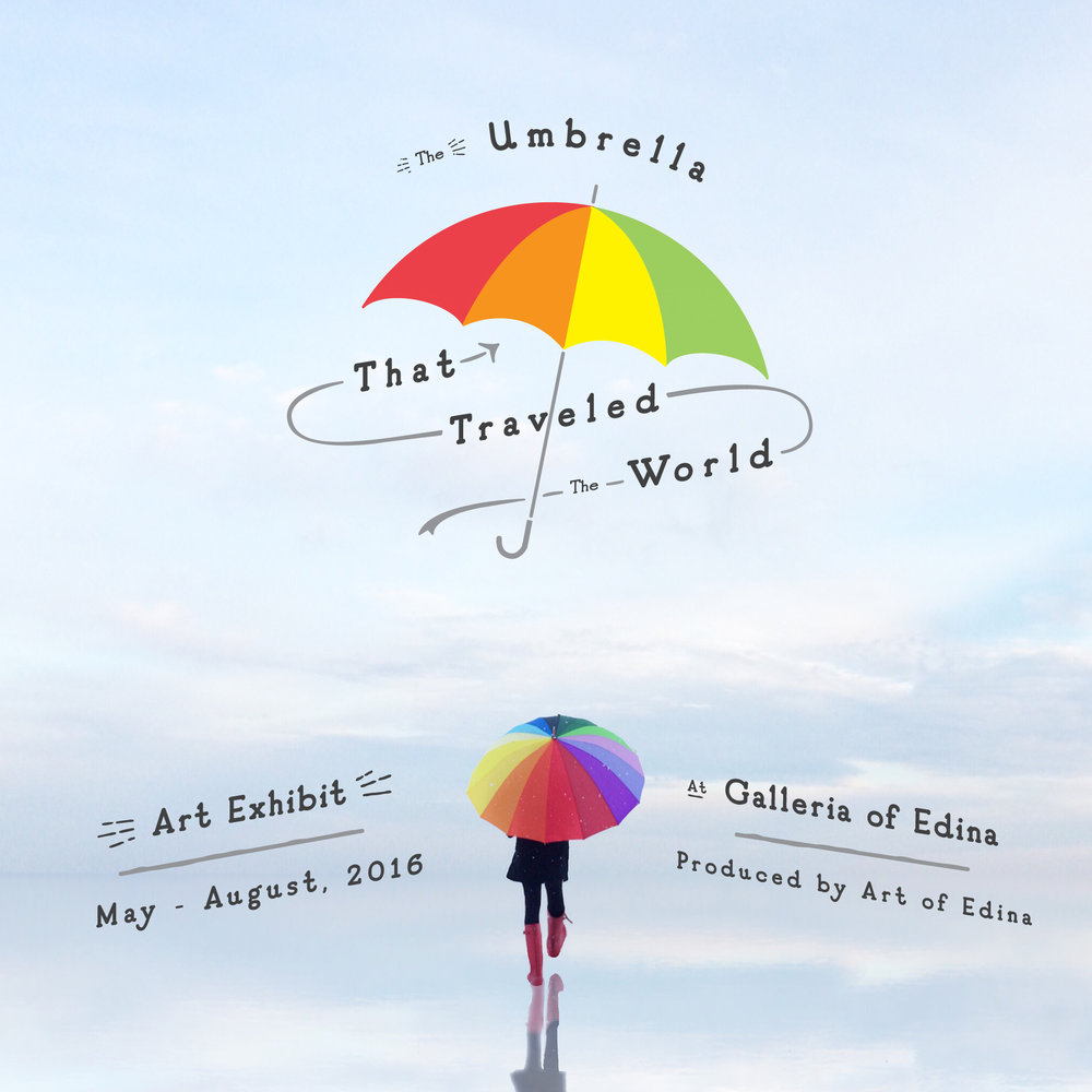 Galleria Traveling Umbrella Show     Spring 2016