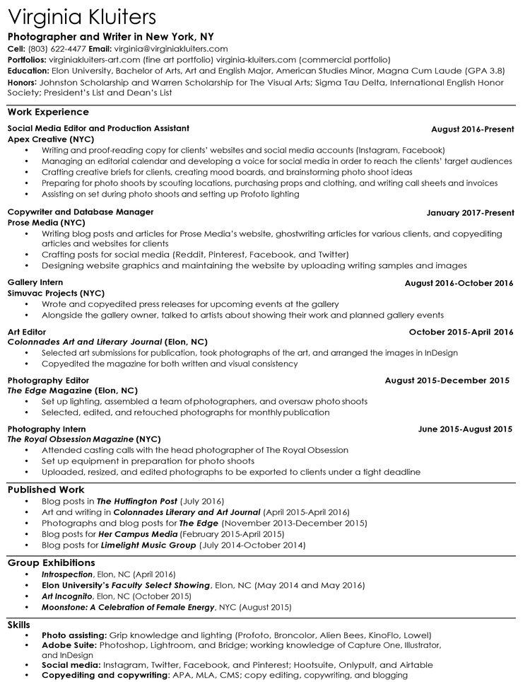 resume for english major pasoevolistco - English Major Resume