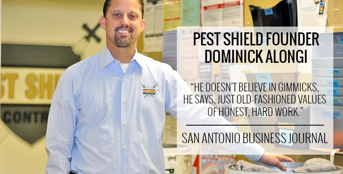 Founder of San Antonio Pest Control Services Dominick Alongi