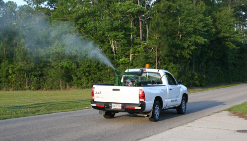 truck mounted mosquito fogger