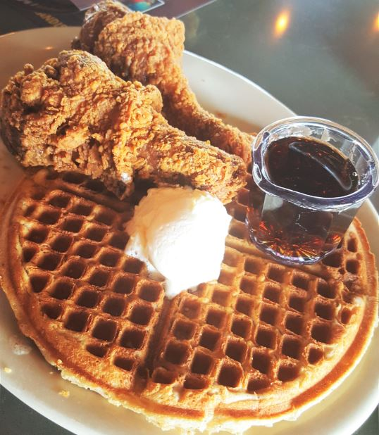 Chicken and Waffles from Lo-Lo's Chicken & Waffles in Southlake, TX