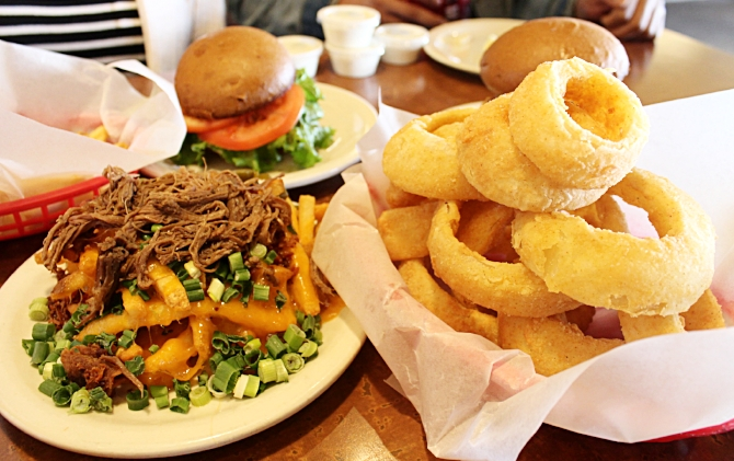 Cardiac Fries and Onion Rings