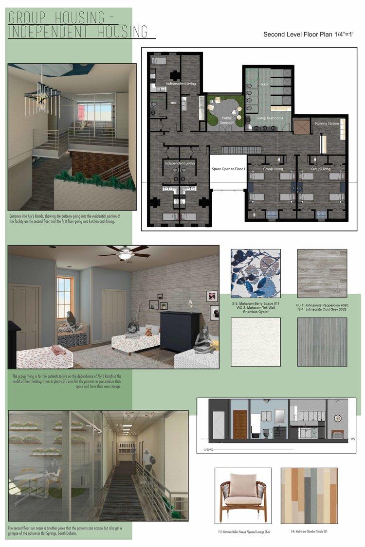 Housing And Interior Design Interior Design Student Work  Wendy Puffer