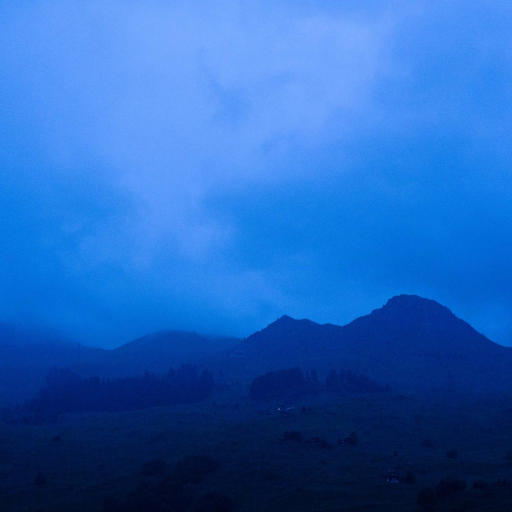 blue hills.