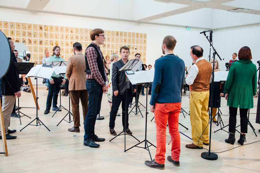 South Iceland Chamber Choir at Cycle Music and Art Festival 2015
