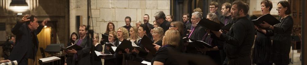 SICC performing John Tavener's work at Southwark Cathedral, London, 2014