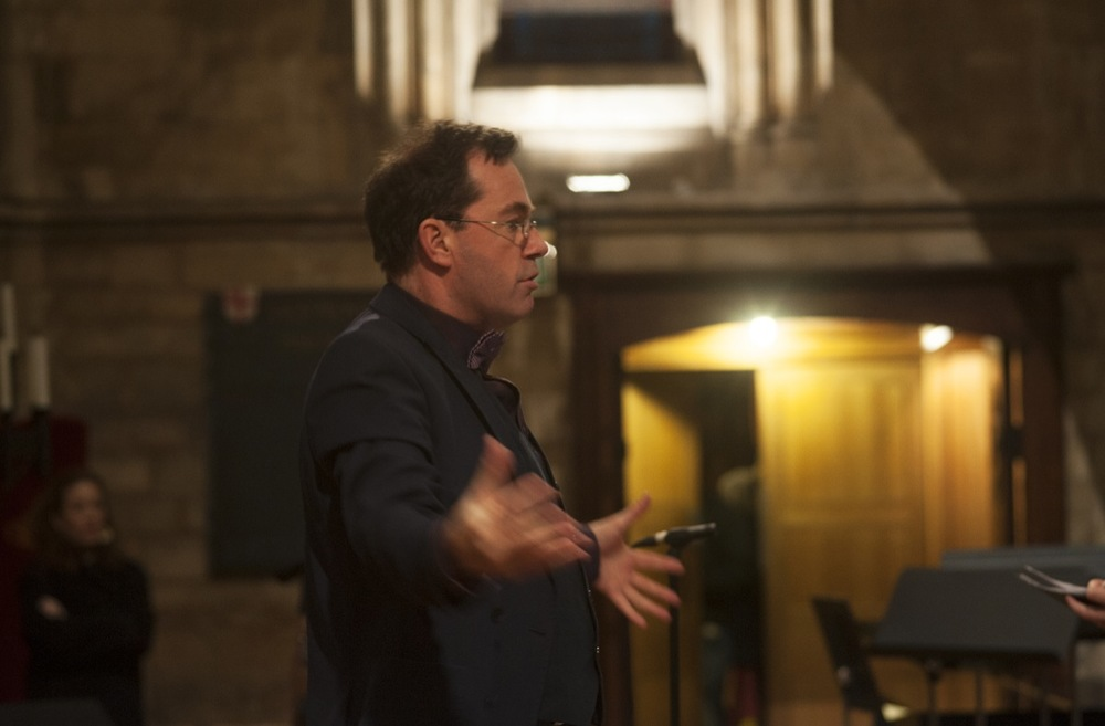 Hilmar Örn Agnarsson, SICC's Conductor and Artistic Director, Southwark Cathedral, London, 2014