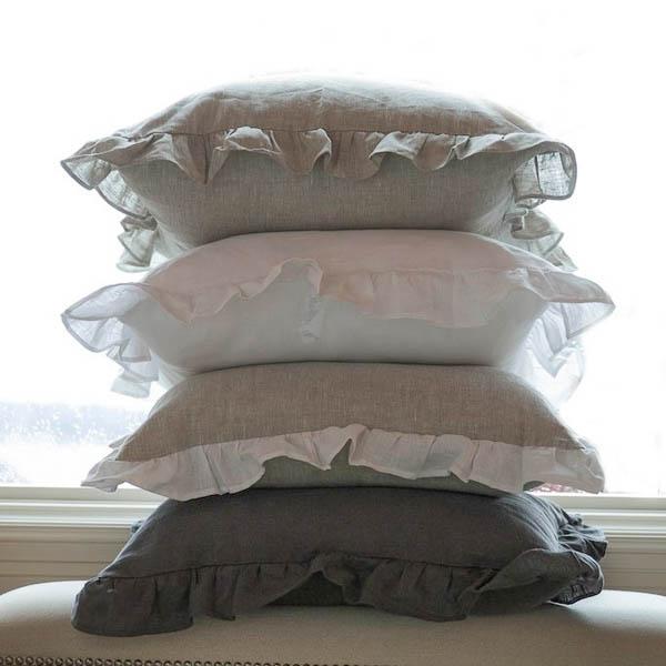 linen pillows prairie linen company
