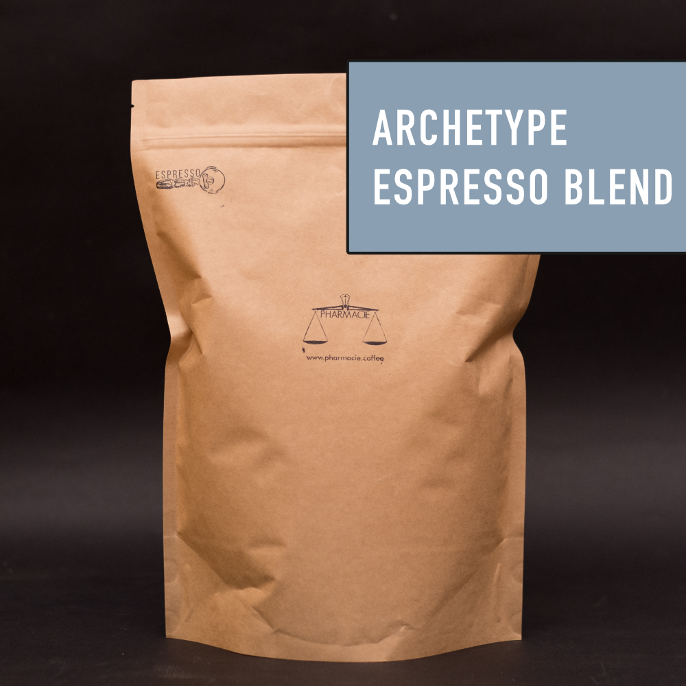 Archetype is our modern take on a classic espresso: rich, syrupy, and seriously moreish.Rich plum wine and cacao nib notes.