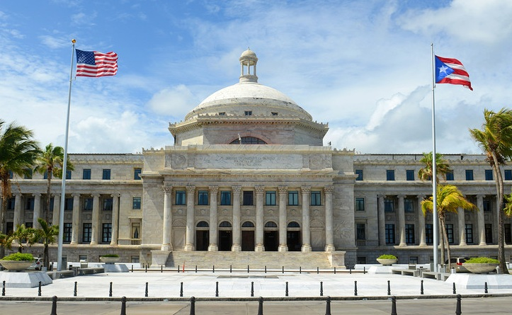 Image of Puerto Rico flag, from    sanjuanpuertorico.com   .