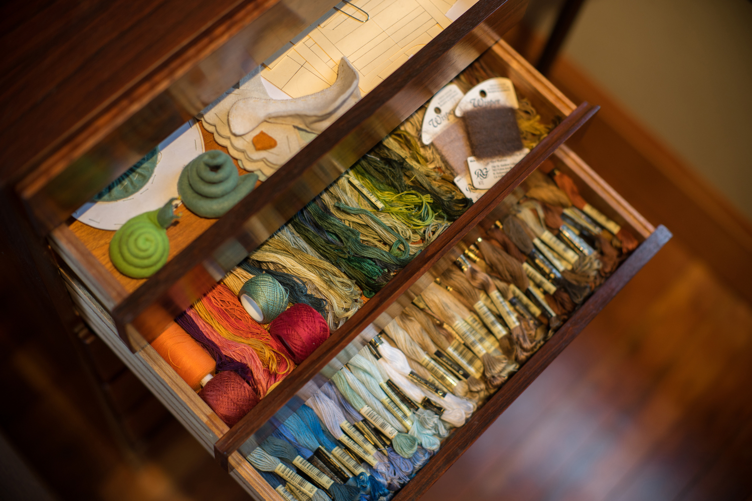 Organizing Embroidery Floss For Hand Stitching Threadfollower