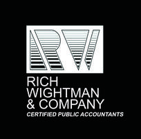 Rich, Wightman & Company. Certified Public Accountants. Rich, Wightman & Company, CPAs, LLC offers traditional auditing, consulting, and tax services as well as a broad range of advisory services including strategic, regulatory, mergers and acquisitions, fraud investigation, estate planning and management consulting to clients in all financial industries.