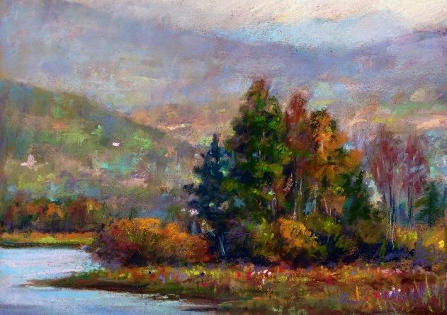 Fall. Pastel. 2014.  9x12.jpg