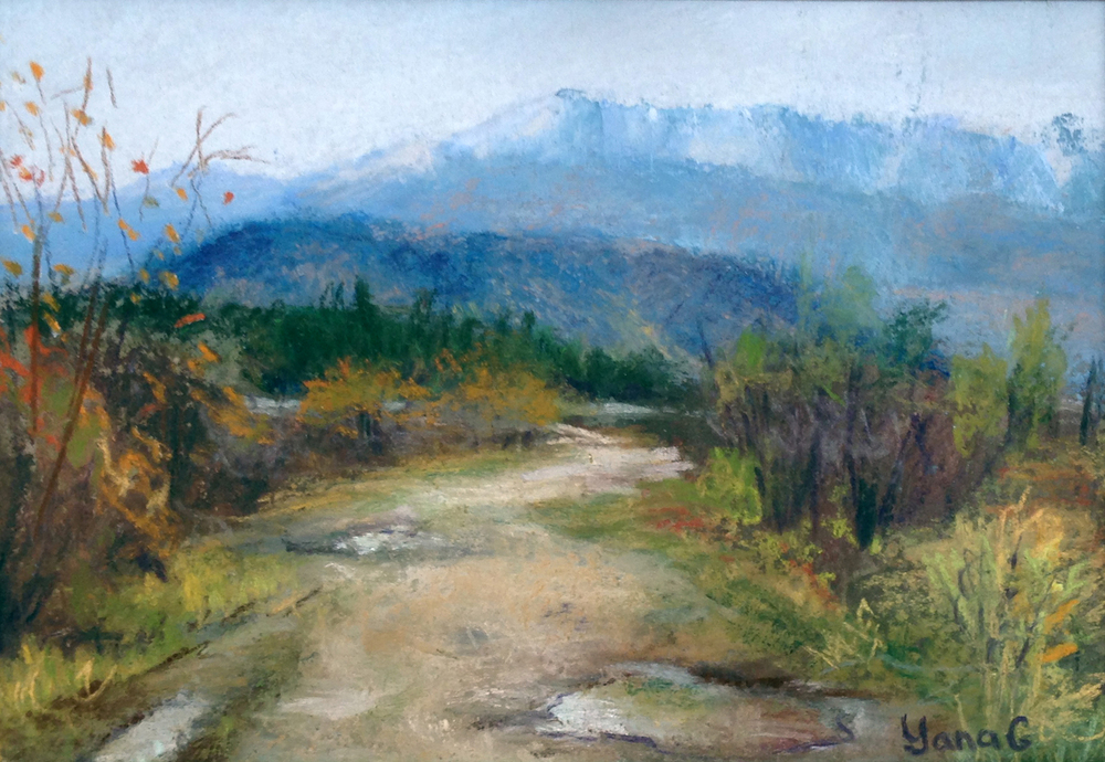 After the rain. 5x7. Pastel.jpg