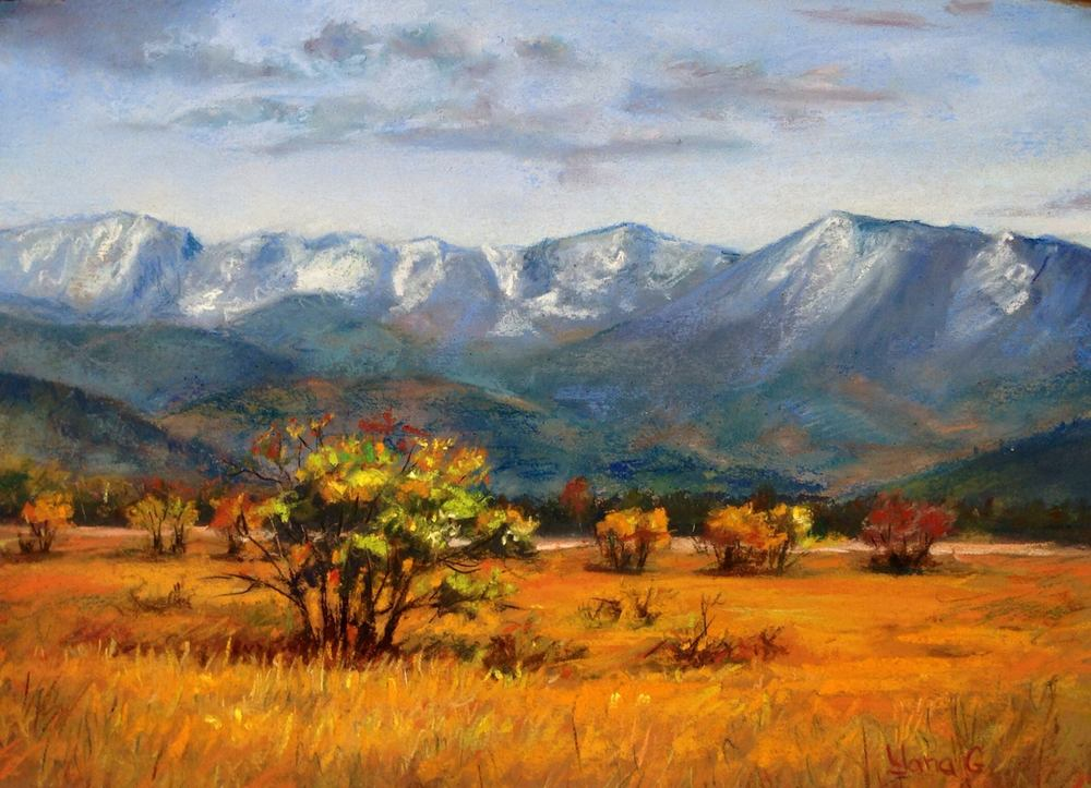 Fall has come. 9x12. Pastel.jpg