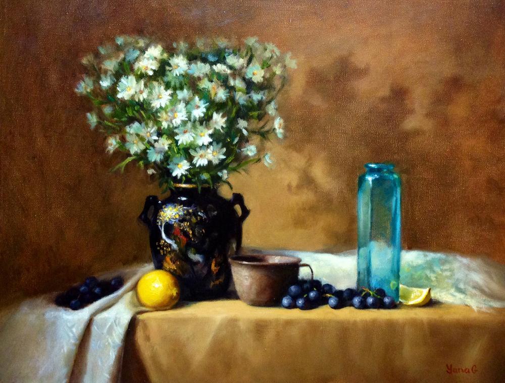 Daises 16x20 Oil on canvas