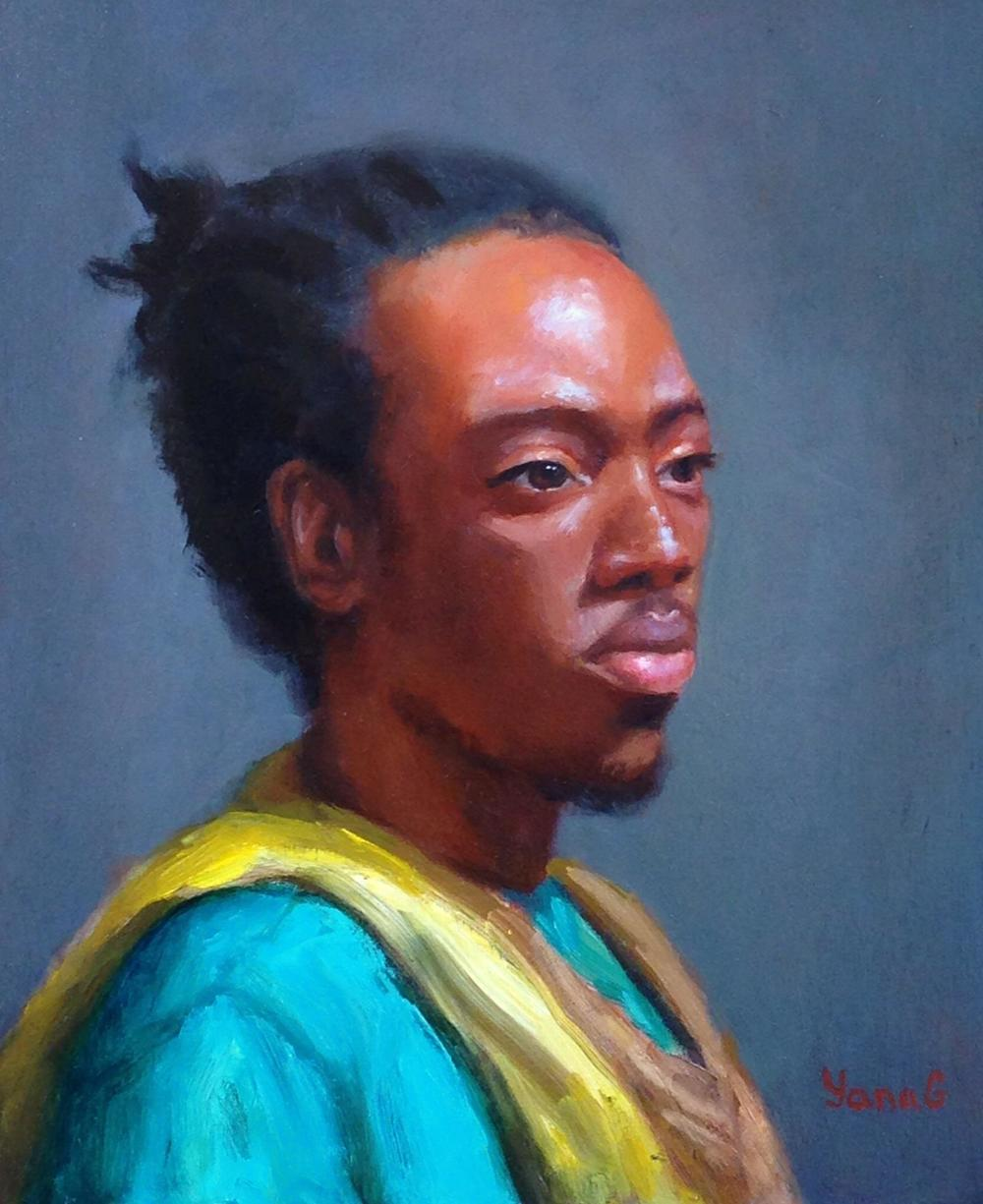 Amos 8x10 Oil on board