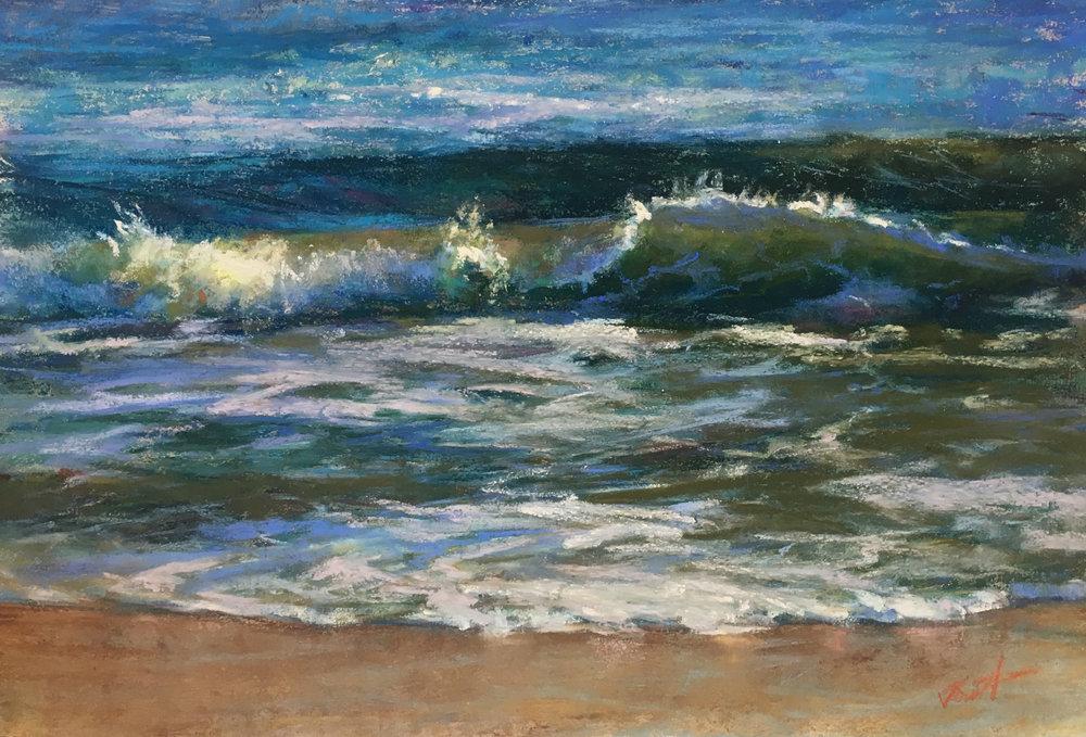 Waves 7x9 Pastel