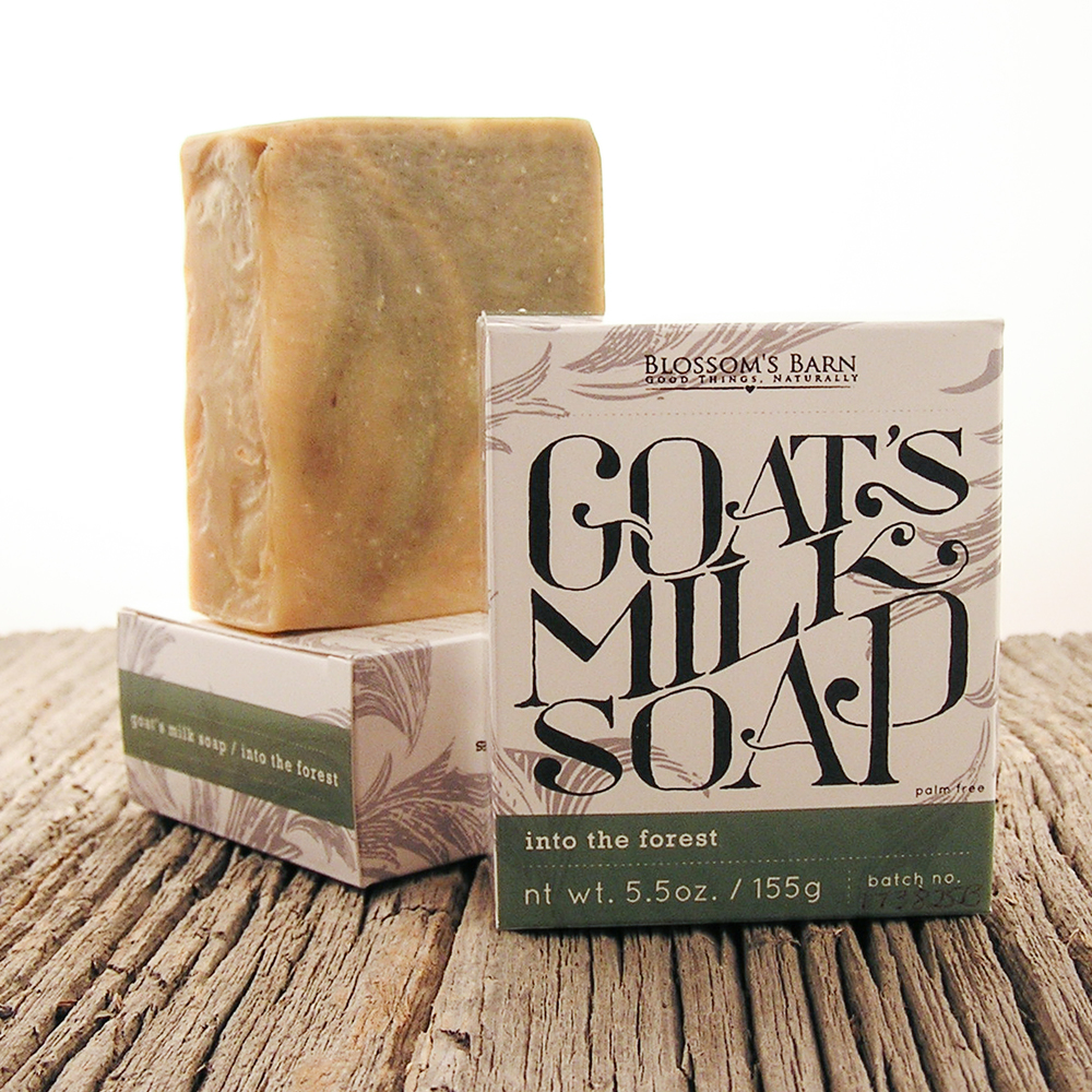 Into the Forest Goat Milk Soap