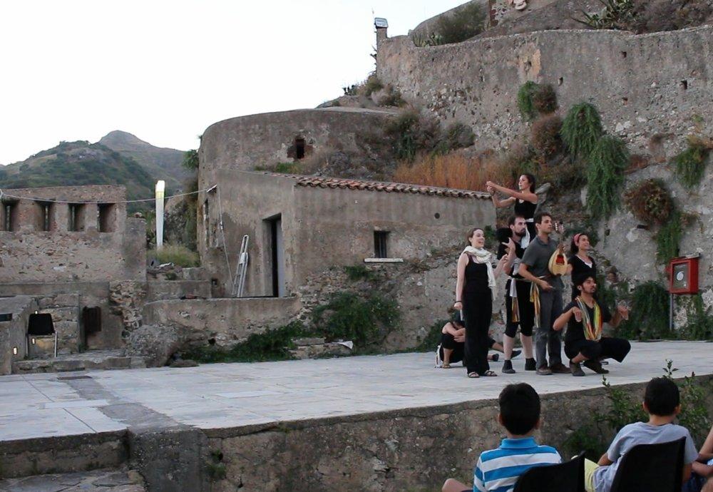 Castello Rufo Ruffo - Scaletta Zanclea, August 21