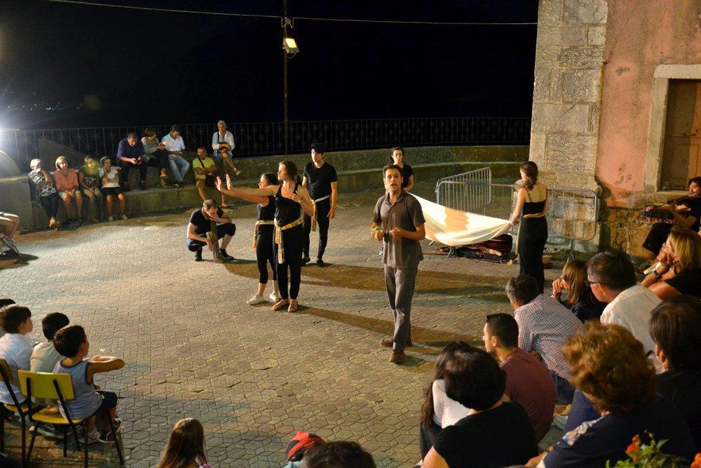 Piazza San Nicolo di Bari - Villaggio Pezzolo, August 16