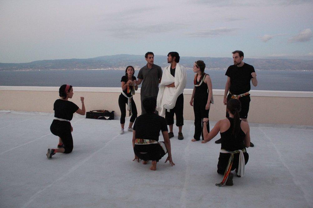Invited dress rehearsal at San Placido