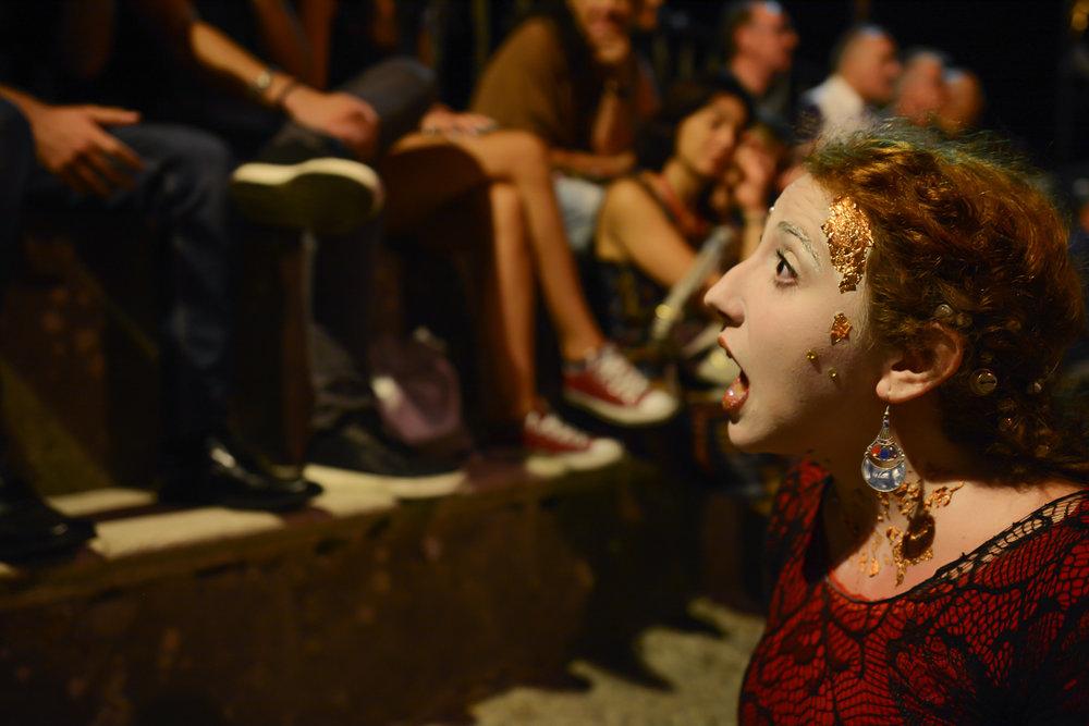 Teatro degli Esoscheletri  Photo by Placido Carbone