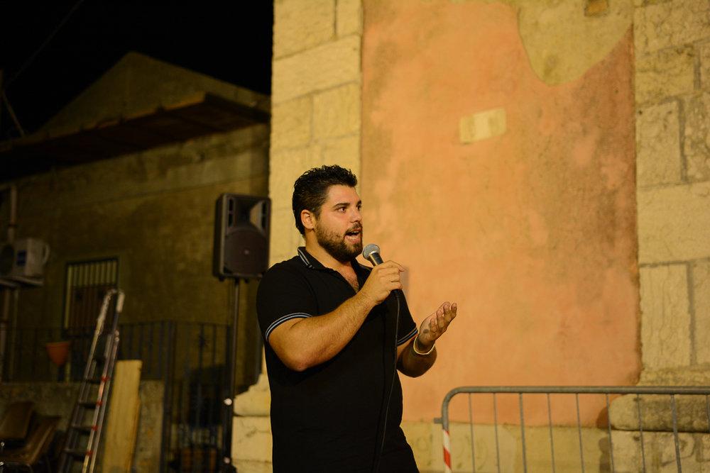 Giuseppe Ferrera  Photo by Placido Carbone