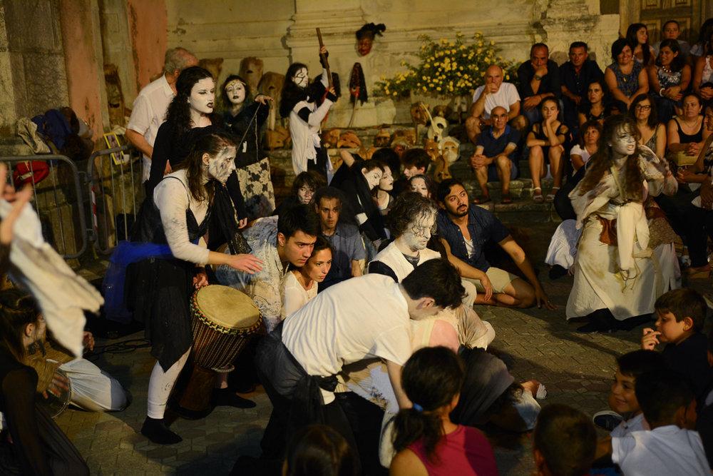 Teatro degli Esoscheletri & Trinacria Theatre Company  Photo by Placido Carbone