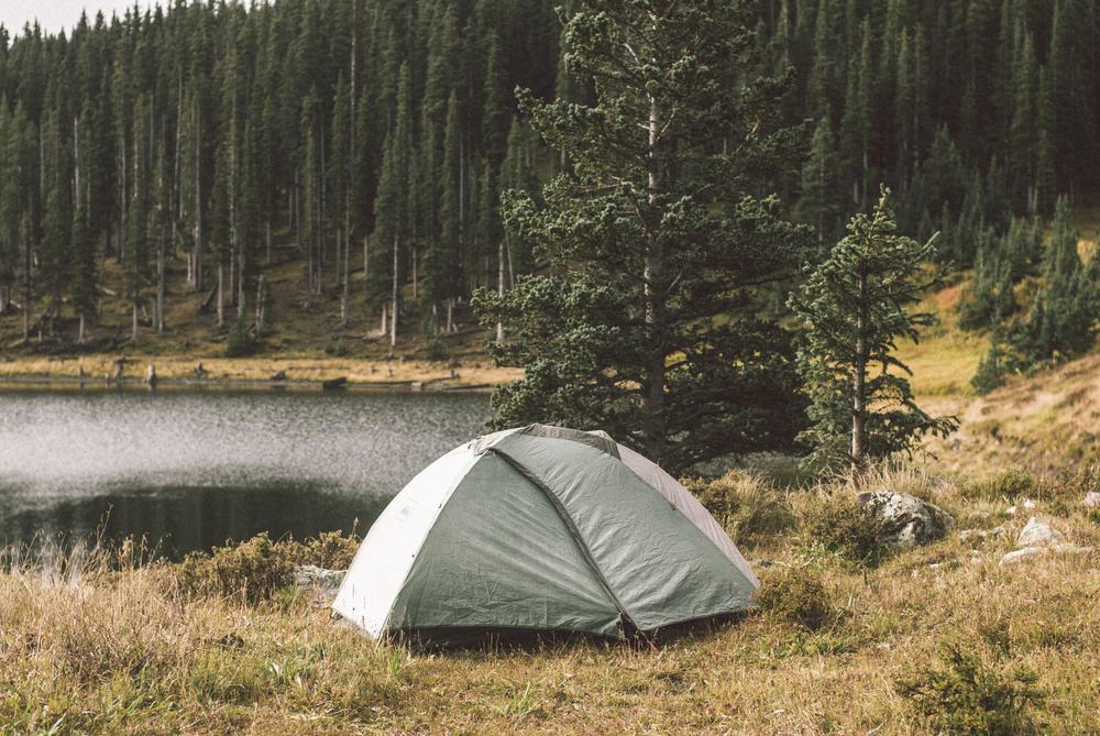 Camping at Pecos Baldy Lake