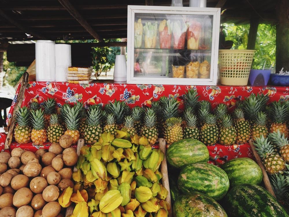 Fruit stand in San Buenaventura