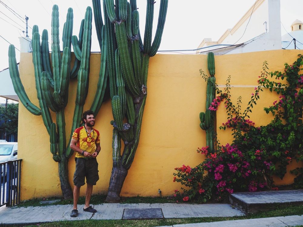 Arriving at Karl & Anna's house in Colima