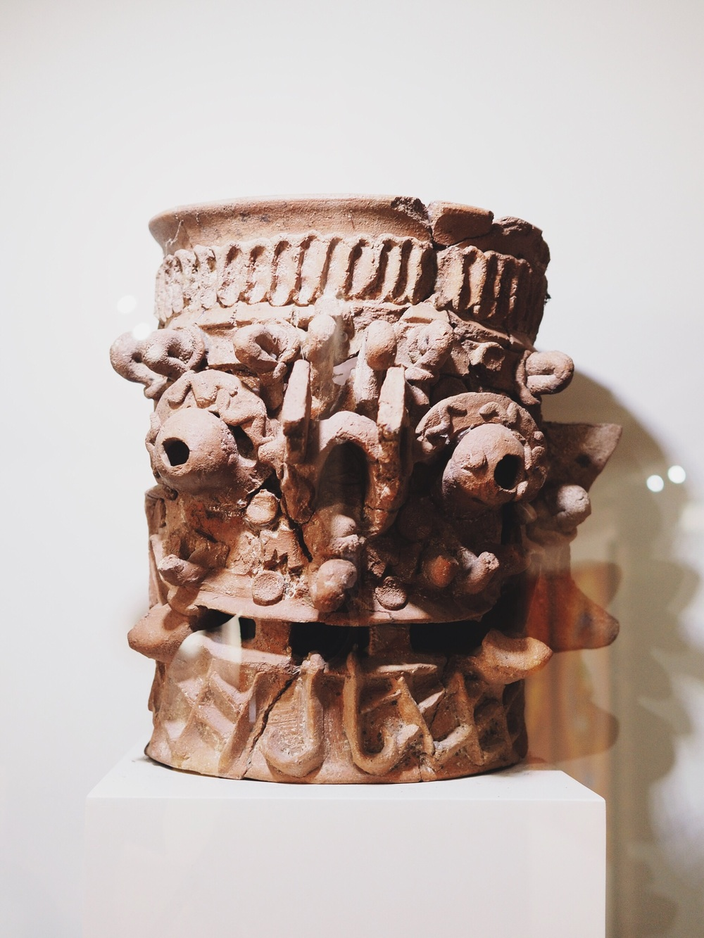 Clay sculpture, circa 800-1000 AD