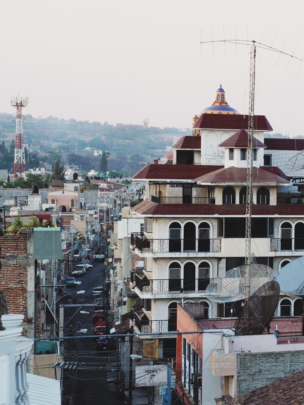 Rooftops of Sahuayo de Morelos