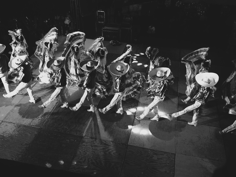 Mexican folk dancing in Yurécuaro