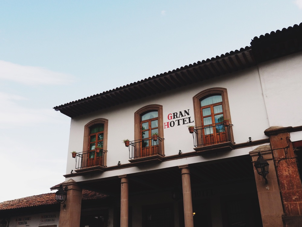 Gran Hotel in Pátzcuaro – home for the night!