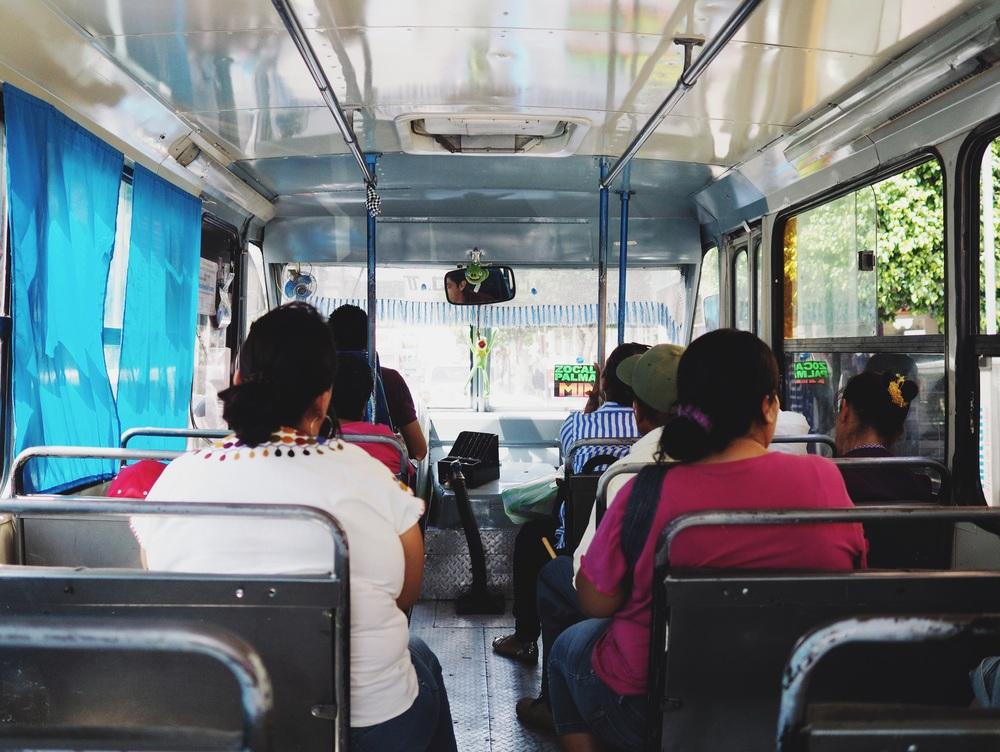 Bus rides in Cuernavaca