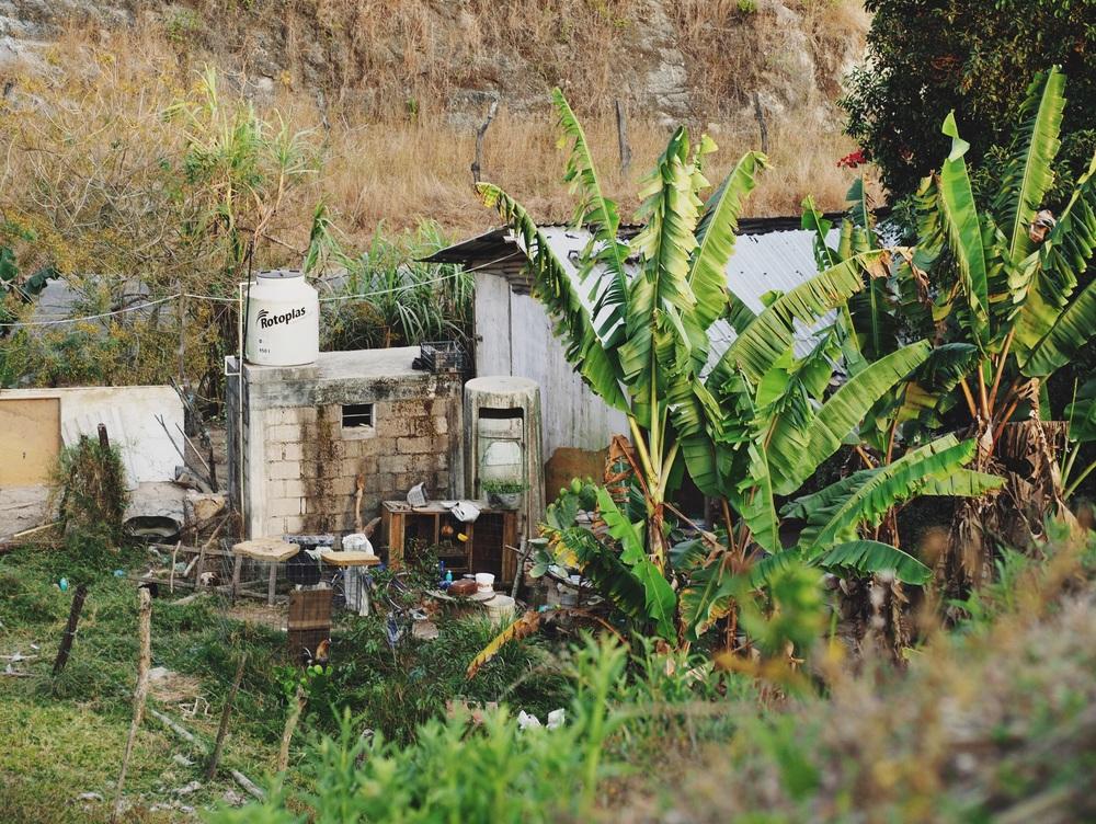 Estrellita's modest home