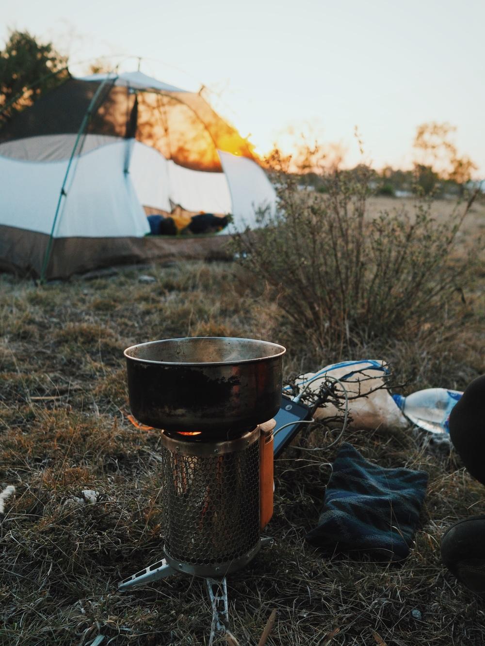 Sunrise chai again!