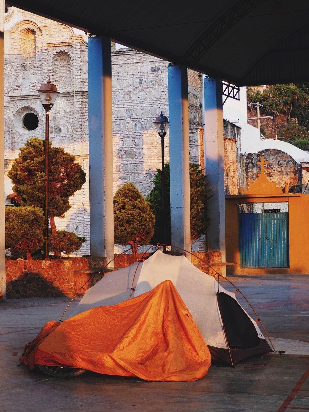 camping in San Sebastián Coatlán