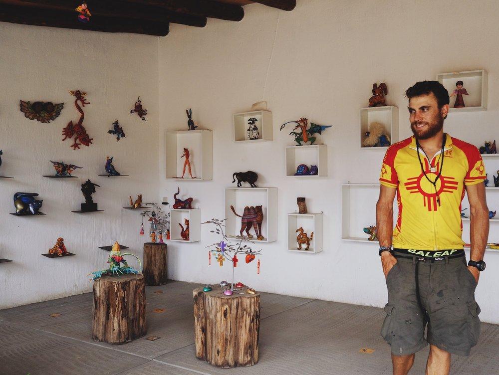 Mehedi and the artesanías