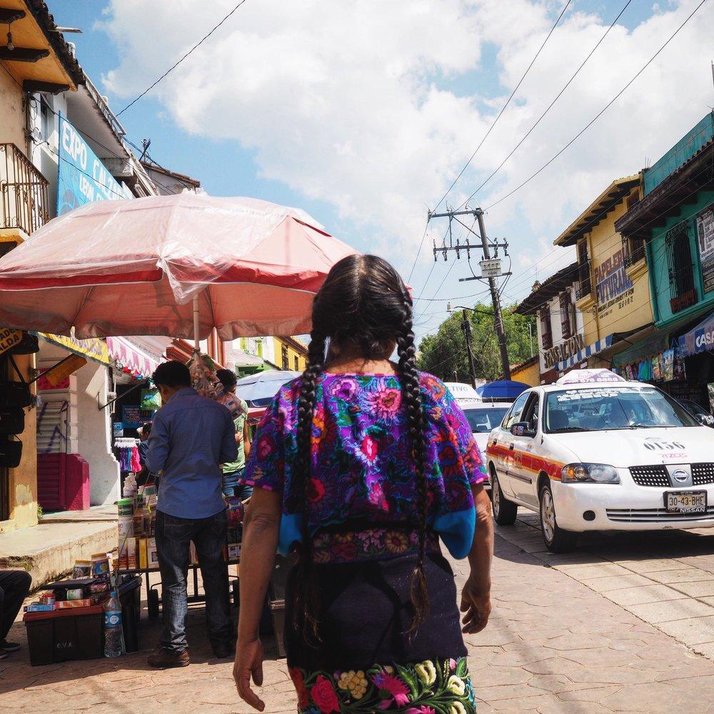 Wandering around the market