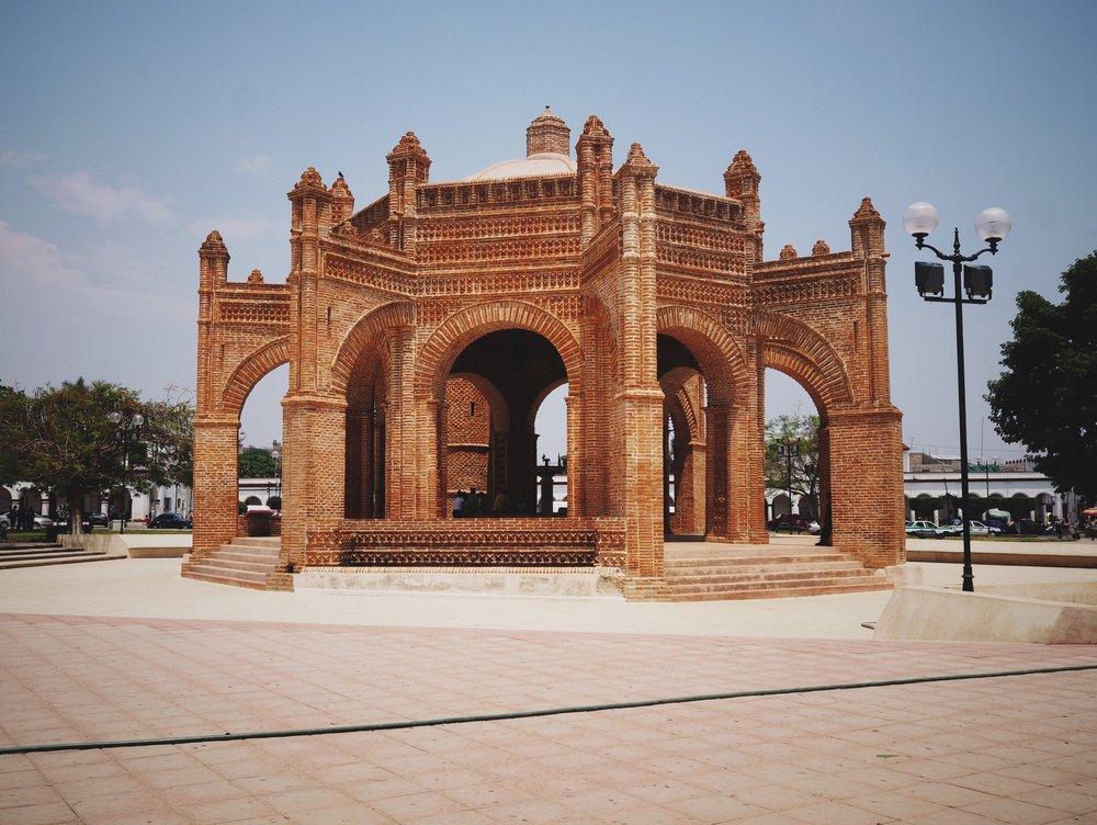 Colonial city of Chiapa de Corzo