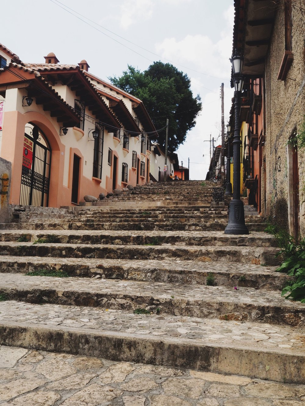 Streets and stairways of San Cristóbal