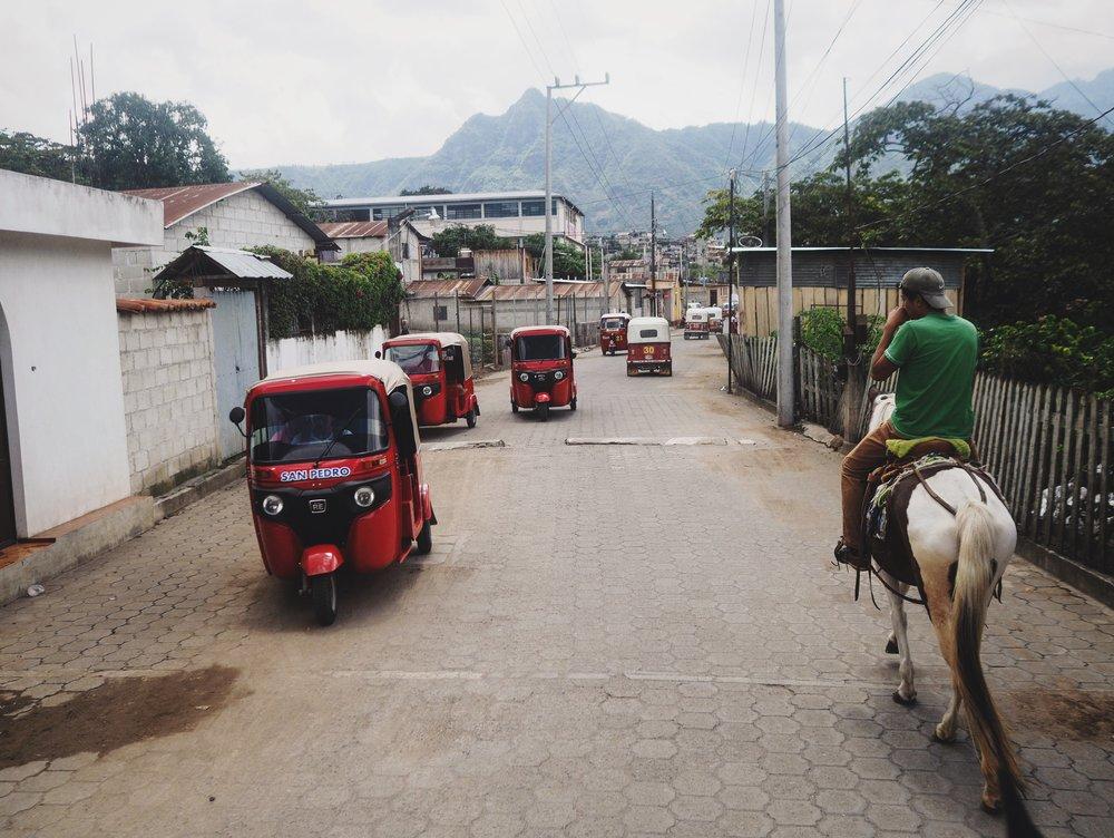 Horseback ride through San Pedro