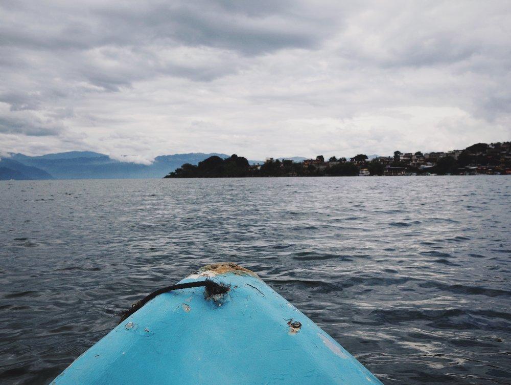 Kayaking Lake Atitlán
