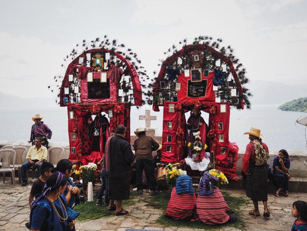 San Antonio Palopó ceremony