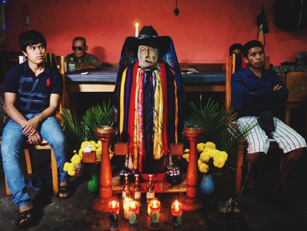 Saint Maximon shrine, Santiago Atitlán