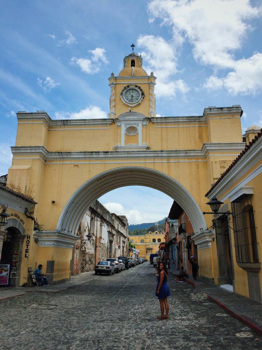 Antigua, at last!