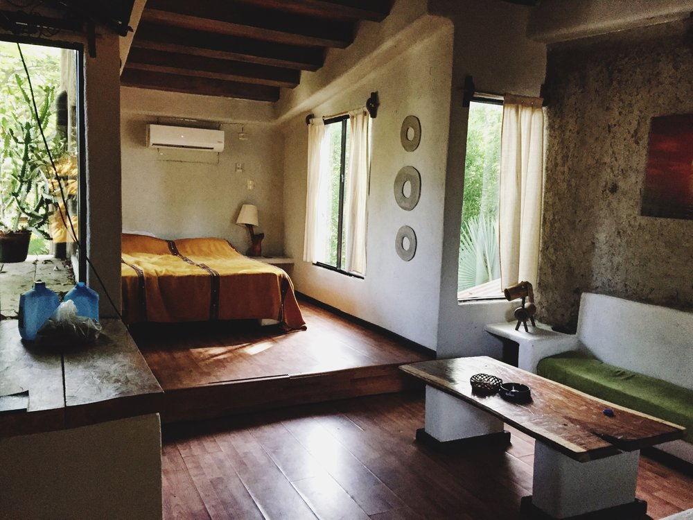 Our treehouse apartment at Tekuani Kai in El Tunco